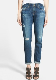 AG 'The Nikki' Relaxed Skinny Jeans (10 Year Dry Wood)