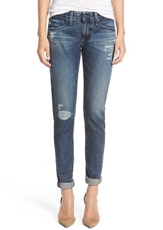 AG 'The Nikki' Relaxed Skinny Jeans (7 Years Mended)