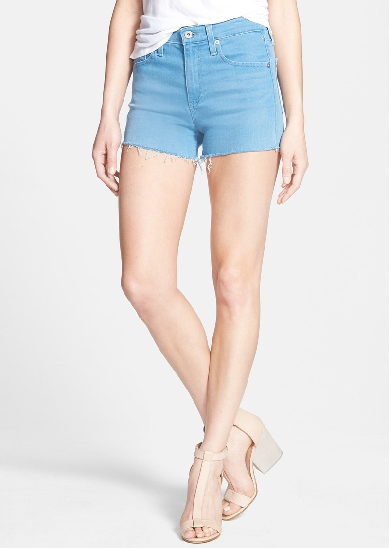 AG 'The Sadie' High Rise Cutoff Shorts (Wild Sky)