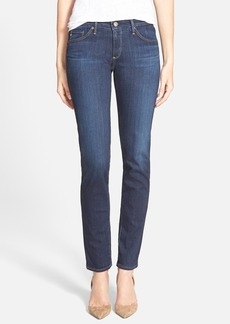 AG 'The Stilt' Cigarette Skinny Jeans (Midnight Swim)