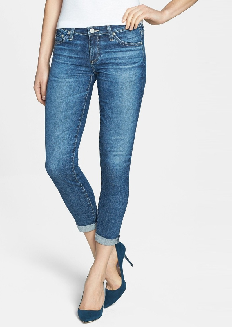 AG 'The Stilt' Roll Cuff Skinny Jeans (11Y Journey)