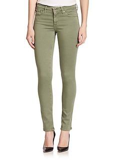 AG The Stilt Sateen Cigarette Jeans