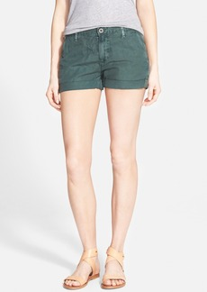 AG 'Tristan' Mid Rise Cuffed Shorts