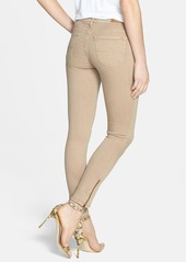 AG Zip Cuff Ankle Skinny Jeans