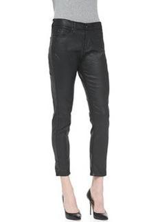 Beau Leatherette Slouchy Skinny Jeans   Beau Leatherette Slouchy Skinny Jeans