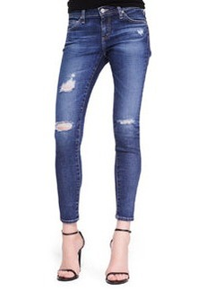 Skinny Distressed Ankle Jeans, 11 Years Swapmeet   Skinny Distressed Ankle Jeans, 11 Years Swapmeet