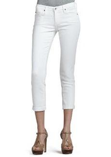 Stilt Roll Up Jean, White   Stilt Roll Up Jean, White