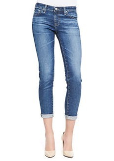 Stilt Skinny Roll-Up Jeans, 11 Years Journey Blue   Stilt Skinny Roll-Up Jeans, 11 Years Journey Blue