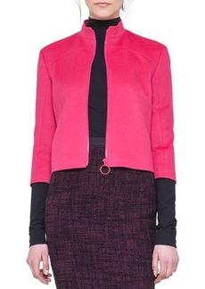 Akris punto Angora-Blend Zip Jacket