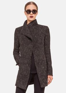 Akris punto Asymmetrical Zip Tweed Jacket