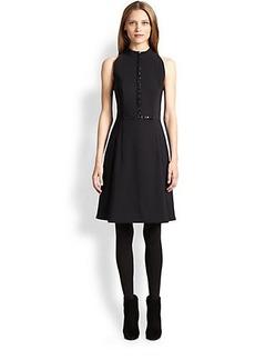 Akris Punto Bead-Detail Neoprene Dress