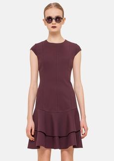 Akris punto Cap Sleeve Jersey Dress