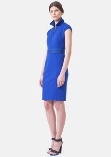 Akris punto Cap Sleeve Jersey Dress