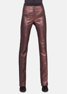 Akris punto 'Clare' Metallic Tuxedo Pants