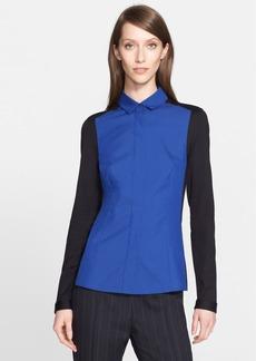 Akris punto Colorblock Shirt (Nordstrom Exclusive)