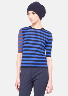 Akris punto Colorblock Stripe Sweater