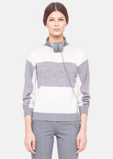 Akris punto Colorblock Wool Sweater