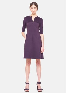 Akris punto Cotton Jersey A-Line Dress