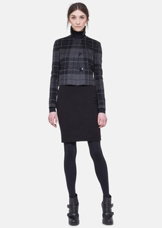 Akris punto Cropped Flannel Jacket
