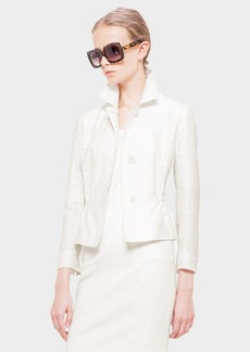 Akris punto Dot Embroidered Jacket