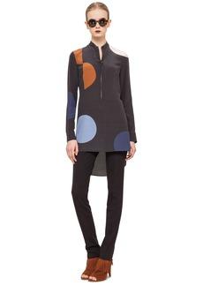 Akris punto Dot Pattern Silk Tunic
