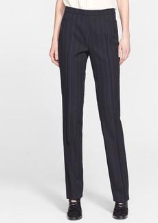 Akris punto 'Francois' Pinstripe Wool Blend Pants (Nordstrom Exclusive)