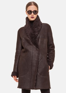 Akris punto Genuine Shearling Coat