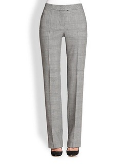Akris Punto Houndstooth Wool Faubourg Pants