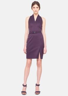 Akris punto Jacquard Cutaway Sheath Dress