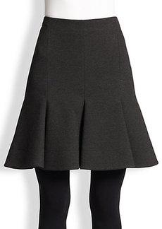Akris Punto Jersey Flippy Skirt