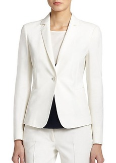 Akris Punto Jersey One-Button Jacket