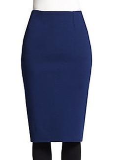 Akris Punto Jersey Pencil Skirt