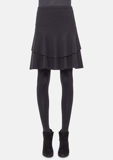 Akris punto Jersey Peplum Skirt