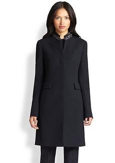 Akris Punto Long Wool Coat