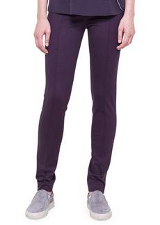 Akris punto Mara Knit Leggings, Purple
