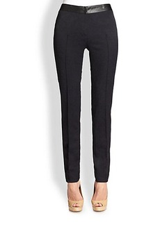 Akris Punto Mara Stretch Jacquard Pants