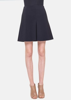 Akris punto Mini Godet Pleat Techno Skirt