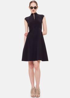 Akris punto Neoprene Fit & Flare Dress