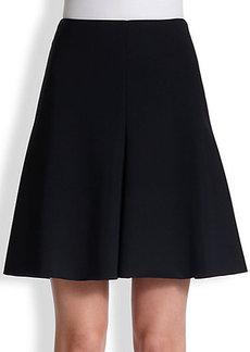 Akris Punto Neoprene Flared Skirt