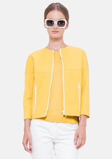 Akris punto Oversized Crop Jacket