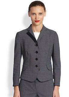 Akris Punto Pindot Four-Button Jacket