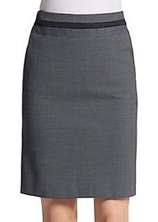 Akris Punto Pindot Knit Pencil Skirt
