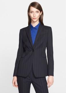 Akris punto Pinstripe Wool Blend Jacket (Nordstrom Exclusive)