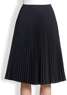 Akris Punto Pleated Midi Skirt