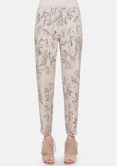 Akris punto Print Ankle Pants