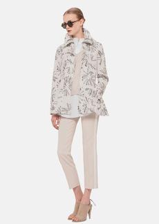 Akris punto Print Hooded Techno Jacket