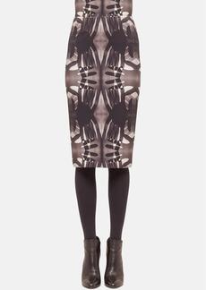 Akris punto Print Midi Skirt