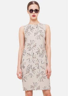Akris punto Print Sheath Dress