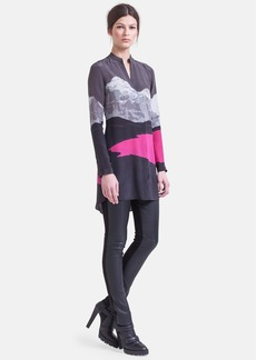 Akris punto Print Silk Tunic