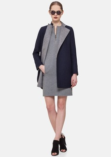 Akris punto Reversible Double Face Wool Coat